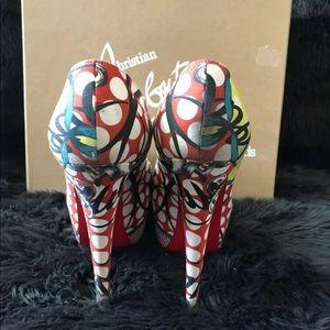 Christian Louboutin Shoes - Christian Louboutin Multicolor Daffodile